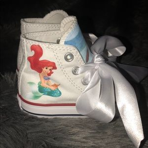 53ef23c29ea0 Converse Shoes - Custom Disney Mermaid Converse - Made to Order